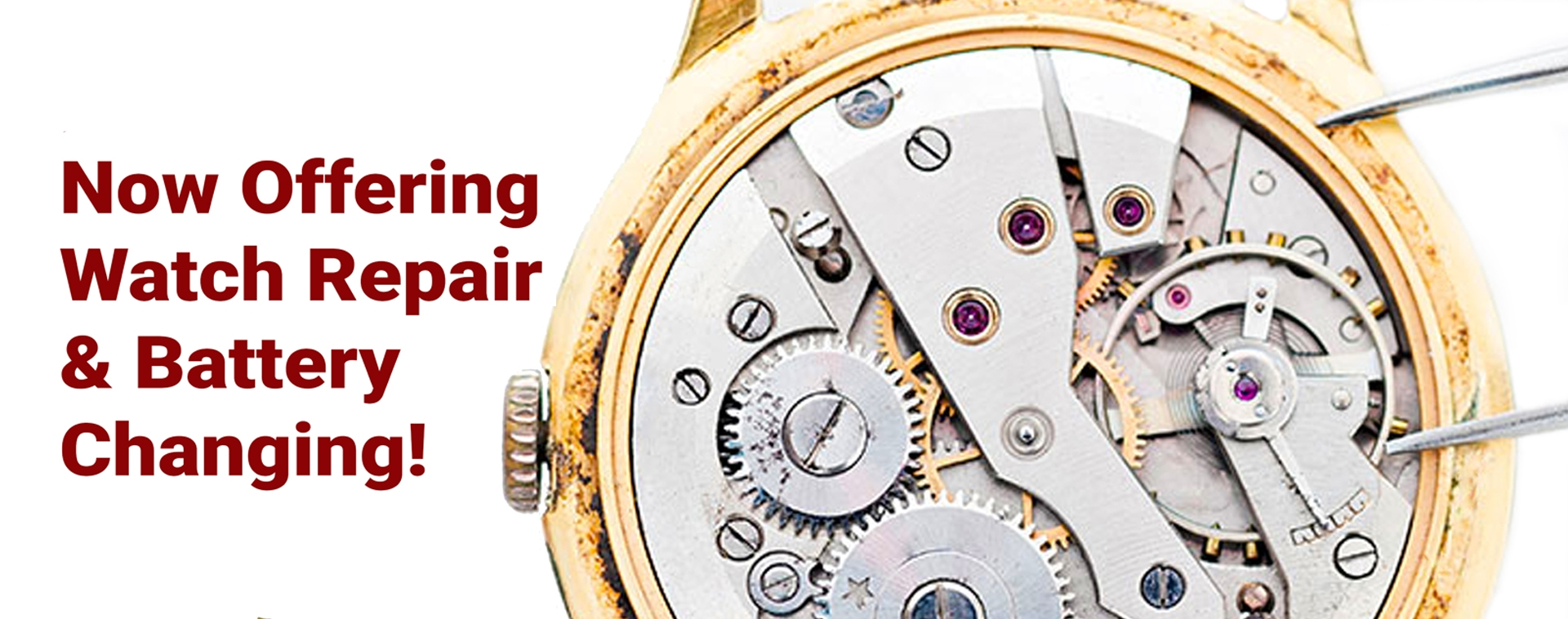 Watch Repair & Watch Battery Changing & Watch Services